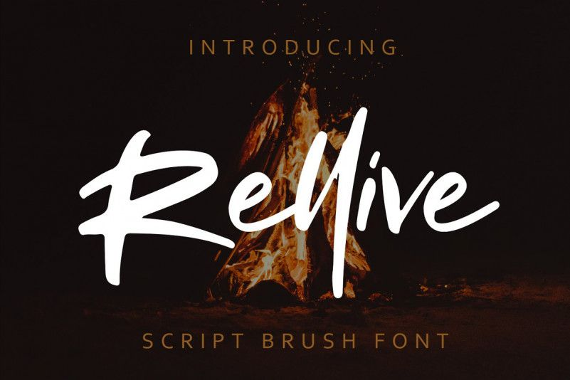 rellive-brush-font