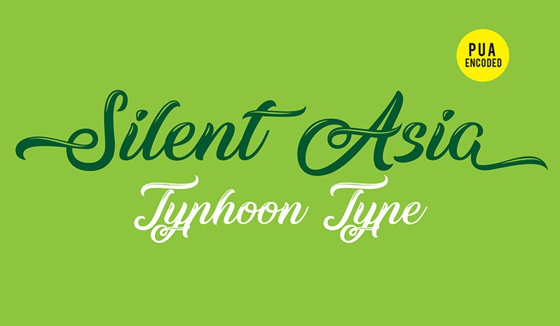 silent-asia-font-1