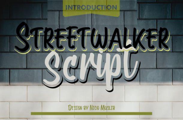 Streetwalker Font
