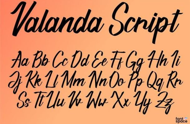 Valanda Font