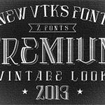 Vtks Premium Font