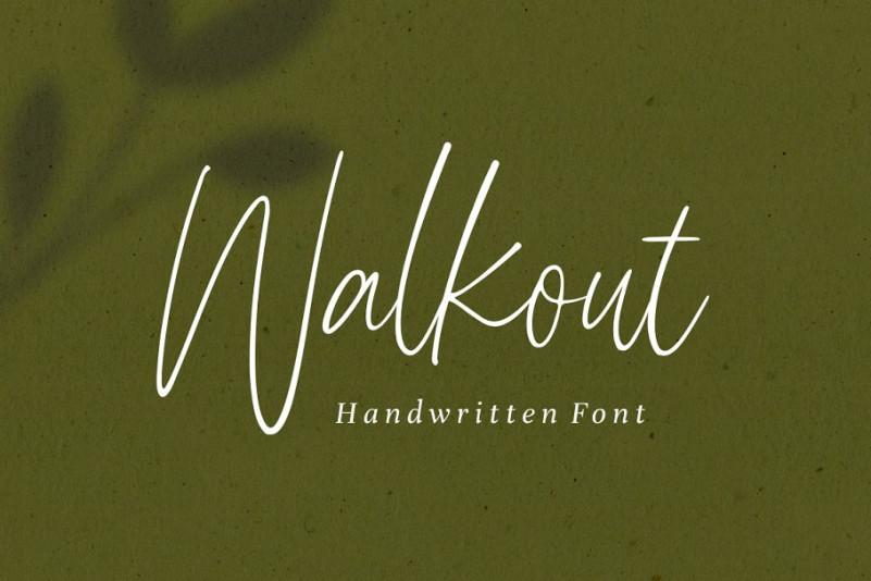 walkout-font-1
