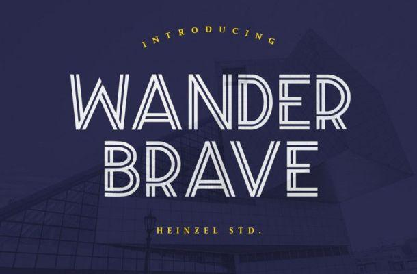 Wander Brave Font