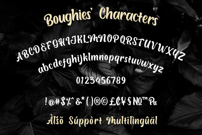 Boughies Typeface-3