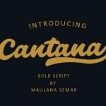 Cantana Font