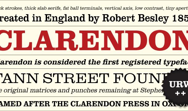 Clarendon Font Free
