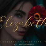 Elizabeth Luxury Signature Font