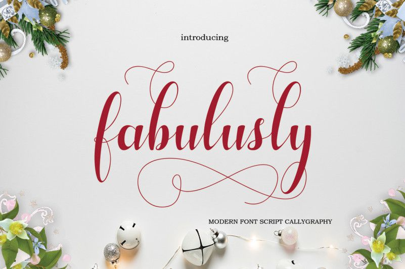 Fabulusly Script Font-1