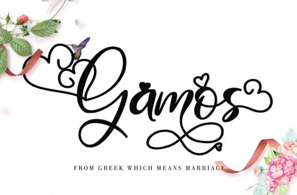 Gamos Font
