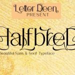HalfbreD Font