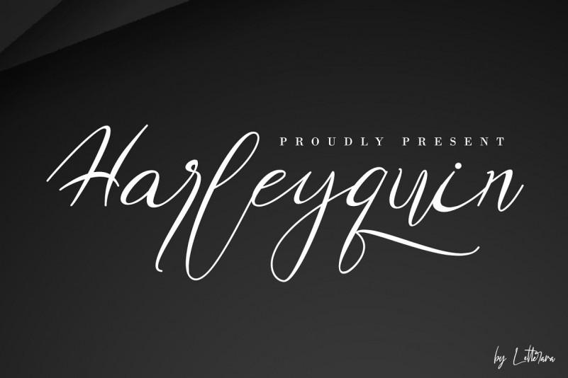 Harleyquin Font-1