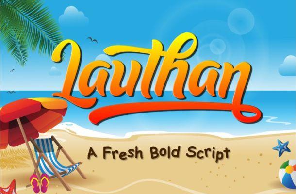Lauthan Script Font