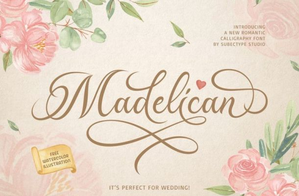 Madelican Font