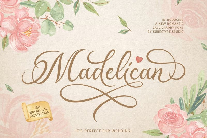 Madelican Font-1
