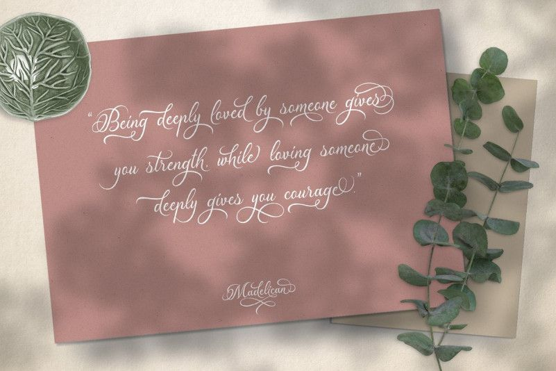Madelican Font-3