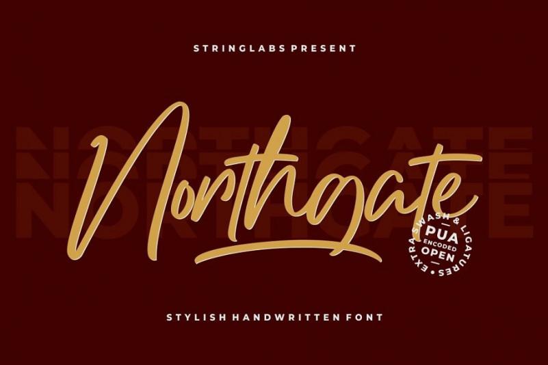 Northgate Font-1