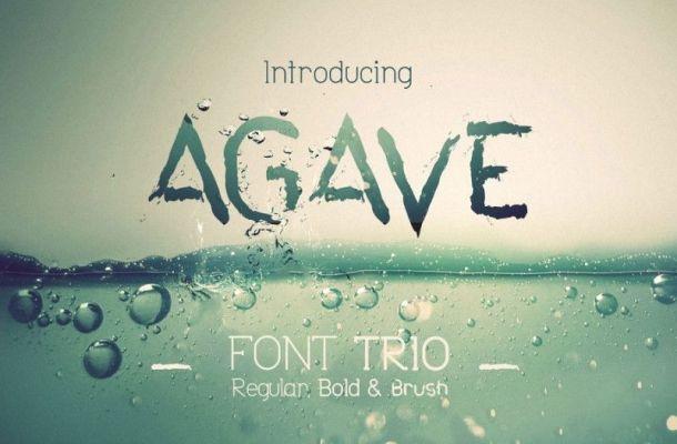 Agave Font