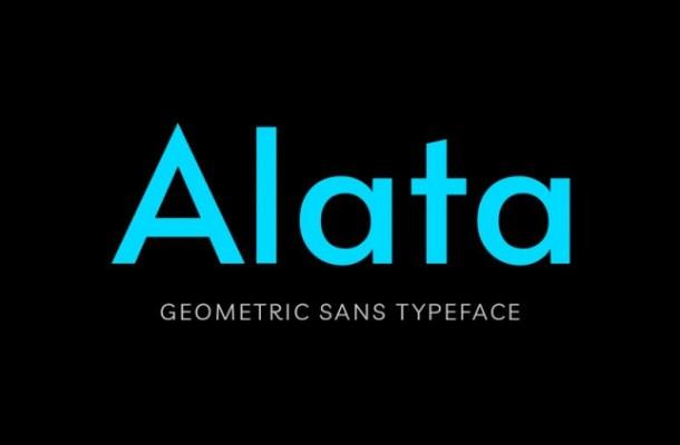 Alata Sans Serif Font