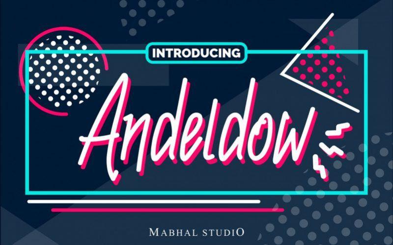 andeldow-script-font-1