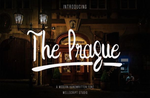The Prague Handwritten Font