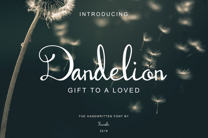 dandelion-font-1
