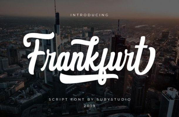 Frankfurt Font