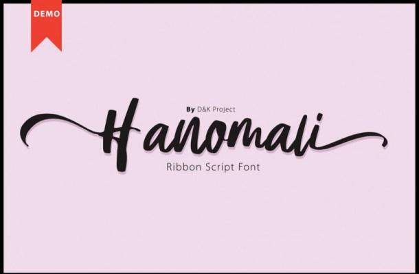 Hanomali Font