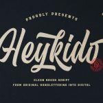 Heykido Font Duo