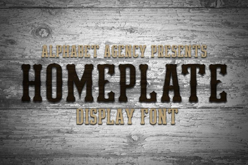 Download Homeplate Font - Dafont Free