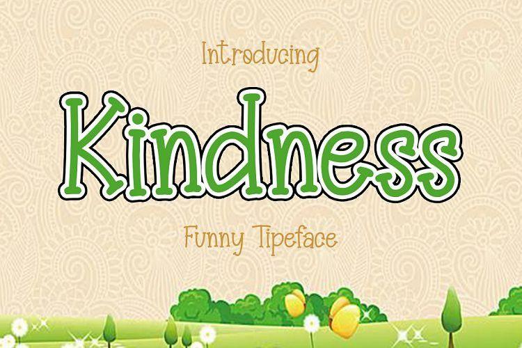 kindness-font-1