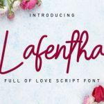 Lafentha Font