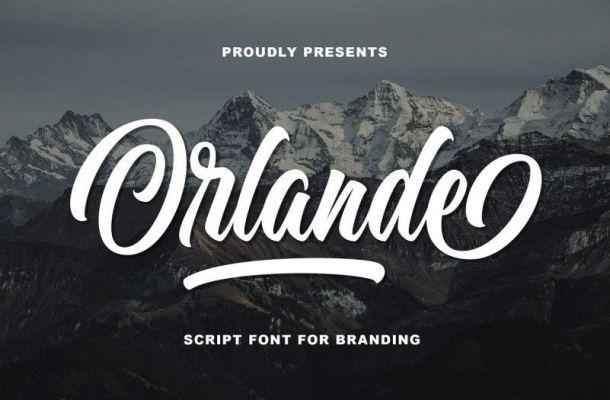 Orlande Script Font