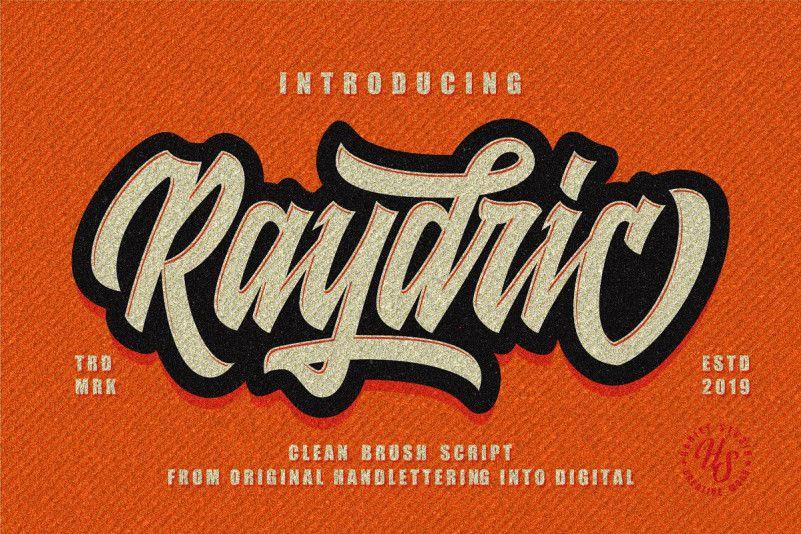 raydric-script-font-1