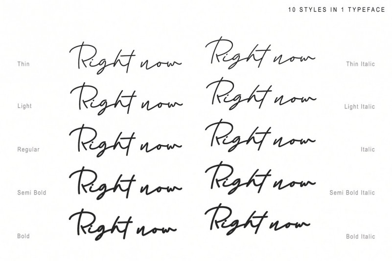 right-now-signature-font-2