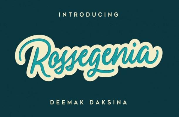 Rossegenia Font