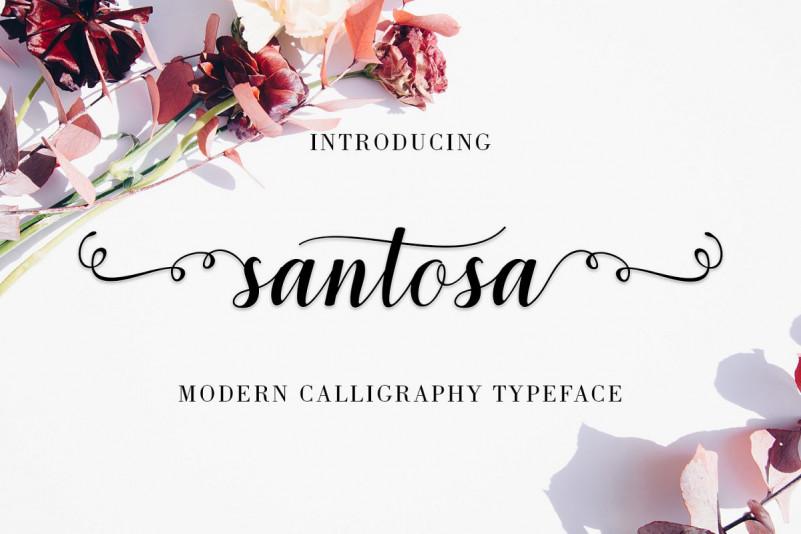 santosa-calligraphy-font-1