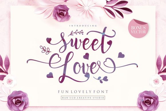 sweet-love-calligraphy-font-1