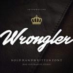 Wrongler Font