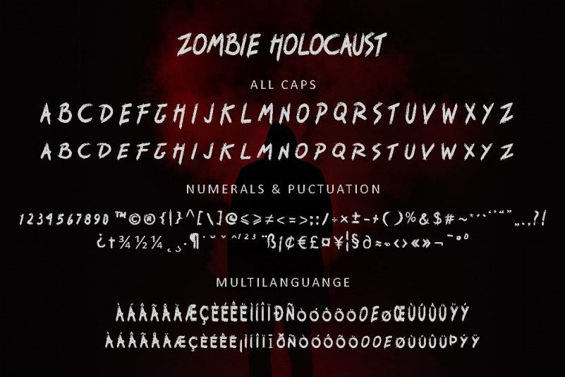 zombie-holocaust-handbrush-font-4