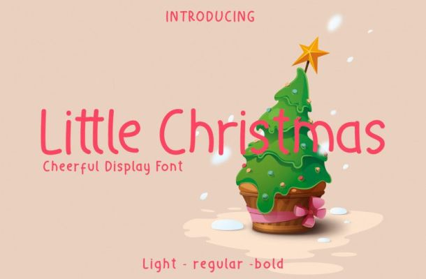 Little Christmas Holiday Font