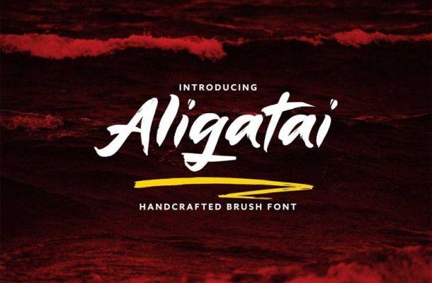 Aligatai Font