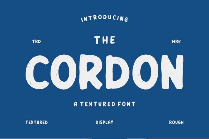 cordon-font