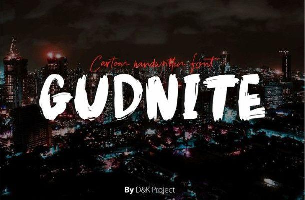 Gudnite Font