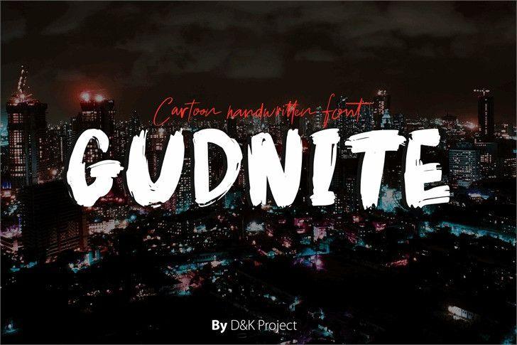 gudnite-font