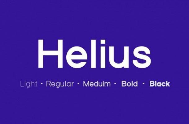 Helius Font