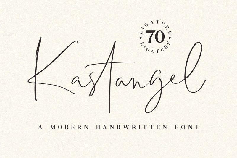 kastangel-handwritten-font-1