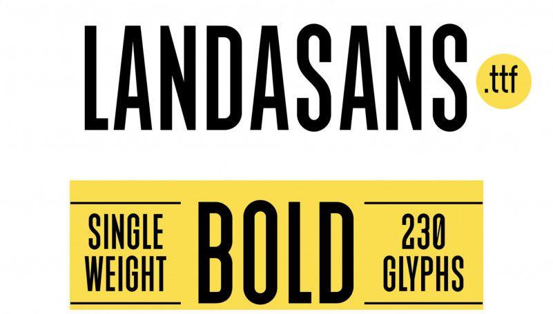 landasans-free-font-1