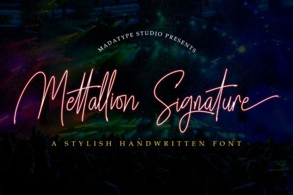 Mettallion Font