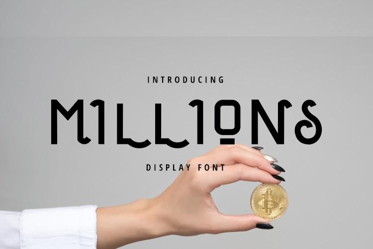 millions-font