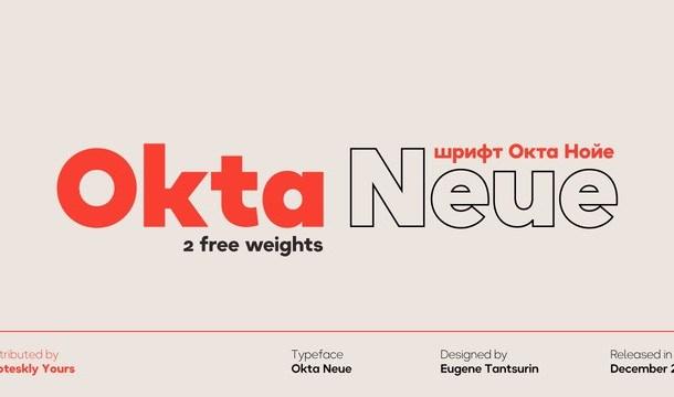 Okta Neue Font